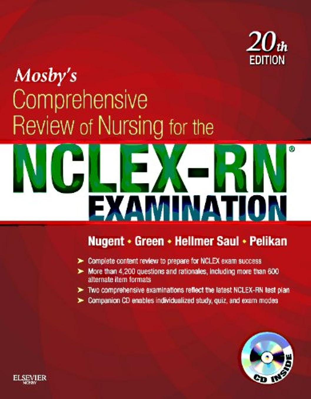 構築する透明にキャンプMosby's Comprehensive Review of Nursing for the NCLEX-RN® Examination, 20e (Mosby's Comprehensive Review of Nursing for NCLEX-RN Examination)