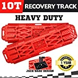 X-Force 4WD Recovery Tracks-4x4 Recovery Kit-Emergency Gear with Shovel and Tyre Repair Kit-Mud Tracks 2 Traction Mats Help Tyres to Grip in Sand Snow and Mud-Lightweight Super Strong Polymer Design