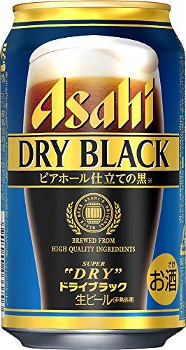 アサヒ スーパードライ ―ドライブラック― 缶 350ml×24本