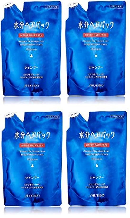 結晶ドキドキ二層【まとめ買い】水分ヘアパック シャンプーa 詰替用450ml×4個