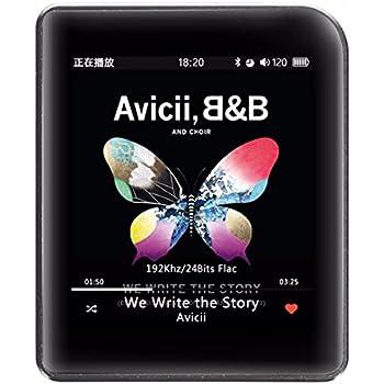 Shanling M1 デジタルオーディオプレーヤー ポータブルMP3ミュージックプレーヤー Bluetooth (ブラック)