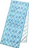 ダイカイ sommer おしゃれ な クールタオル 冷却タオル タイル BL 大人サイズ W100xH20