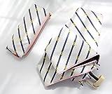 Sotia 折りたたみ傘 レディース 晴雨兼用 日傘 かわいい花柄模様 軽量 208g コンパクト 紫外線遮蔽率99% おしゃれ UVカット99% プレゼント ギフト 収納ポーチ付 (ストライプリボン柄)