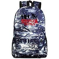 Stranger Things Backpack, Student School Book Bag Laptop Backpack Casual Traveling Daypack Bookbag for Boy Kid Girl