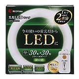 Amazon.co.jpアイリスオーヤマ 蛍光灯 LED 丸型 (FCL) 30形+30形 昼白色 LDFCL3030N