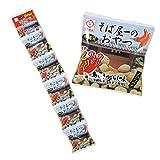 そば屋のおやつ (島とうがらし味) 290323 16g×5袋×5セット サン食品 人気のソーキ(スペアリブ) そばとナッツが絶妙なコンビネーションの豆菓子 沖縄土産やおつまみに