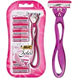 BIC Simply Soleil Click Women's Razors Kit - Pack of 1 Handle and 6 Cartridges