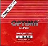 オプティマ  マンドセロ弦 レッドパッケージ Mandolon Cello Red Package (1A)