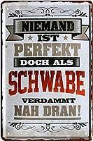 Blechladen完璧ではありませんが、Schwabeのように20 x 30 cmメタルプレート2190