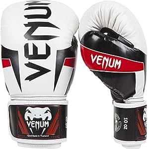 Venum Elite Gants de boxe Blanc/Noir/Rouge 10 oz