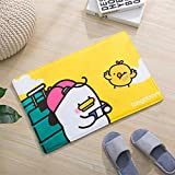 Machine-washable flange sponge absorbs water anti-slip thick carpet cartoon children crawl pad floor mat bathroom doormat