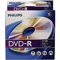 Philips DM4S6B10B/17 DVD-R 16X 10PK PEG BX [並行輸入品]