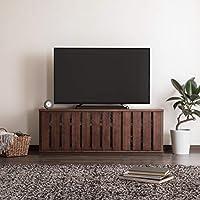 【カリモク正規品】テレビボード ローボード 幅127.7cm モカブラウン karimoku QW9391MKK