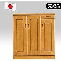 下駄箱 シューズボックス 完成品 木製 幅90cmロータイプ 国産品 日本製