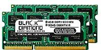 8GB 2X4GB RAM Memory for Compaq Pavilion DV7 Series dv7-4013so Black Diamond Memory Module DDR3 SO-DIMM 204pin PC3-8500 1066MHz Upgrade