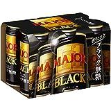 MAJOR 香りとコク ブラック無糖 コーヒー缶 185g×6個