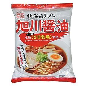 藤原製麺 北海道ラーメン旭川醤油 112g