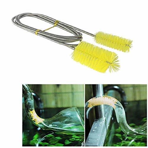 ステンレス 製 パイプ クリーナー フレキシブル ブラシ 柔軟 掃除 配管