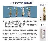 nakamichi ナカミチ Nakamichi 24K 金メッキ バナナプラグ 8本セット 画像