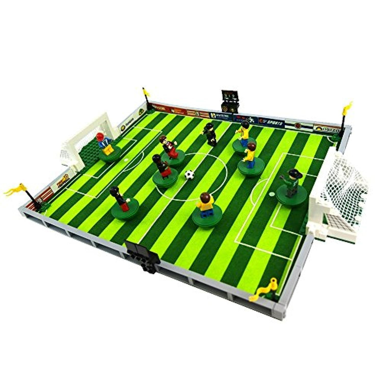 ING STYLE ブロックおもちゃ スーパーサッカースタジアム