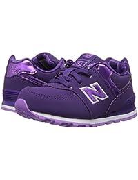 (ニューバランス) New Balance キッズランニングシューズ??スニーカー?靴 KL574v1 (Infant/Toddler) Purple/Lilac 6.5 Toddler (14cm) W