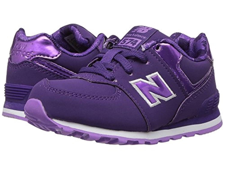 (ニューバランス) New Balance キッズランニングシューズ??スニーカー?靴 KL574v1 (Infant/Toddler) Purple/Lilac 7 Toddler (14.5cm) M