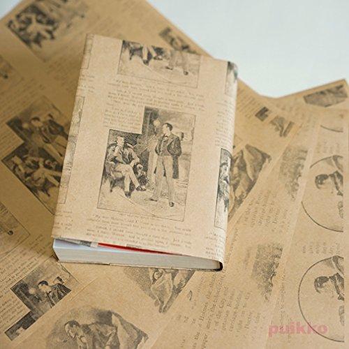 紙製ブックカバー シャーロック・ホームズ クラフト紙