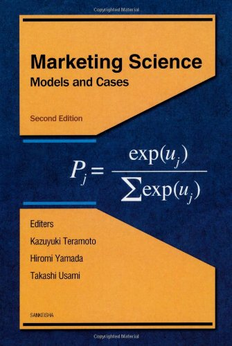 Marketing Science (Models and Cases)