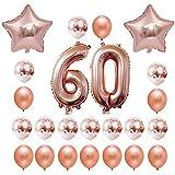 ハッピーバースデーバルーンエアレターホイルバルーンキッズ女性ガールフレンド玩具ヘリウムパーティーの装飾結婚式の誕生日用品、24ピース