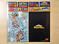2枚セット週刊少年ジャンプ 17号 限定特典 僕のヒーローアカデミア34号 限定特典 ONE PIECEワンピース ミニクリアファイル/