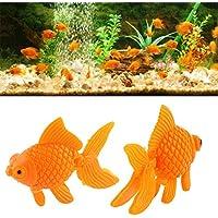 Nice Days(ナイス ディズ)  水に浮くすくい用おもちゃ 金魚 和風 水のおもちゃ プラスチック製 10個入り