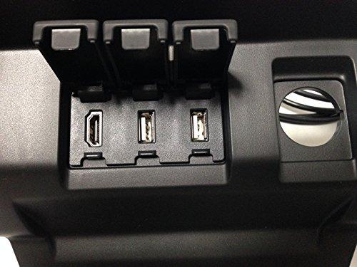 FIT3専用ロアアンダーカバー USB/HDMIパネルAssy DAA-GP5/GP6/GK3/GK4/GK5/GK6/ USB HDMI ケーブル HONDA フィット3 カーナビ USBジャック