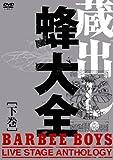 蔵出し・蜂大全 - BARBEE BOYS LIVE STAGE ANTHOLOGY - 下巻 [DVD] 画像