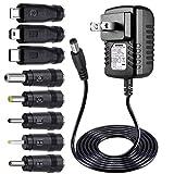 Punasi 5V 2A ACアダプター PSE認証 5.5*2.1mm 汎用ACアダプター DC TVボックス MP3/MP4 タブレット カメラ BTスピーカー GPS おもちゃ Webカメラ ルーター 電源アダプタ DCコネクター*8 dvdプレーヤー acアダプター (5V 2A)