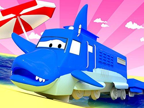 【新放送!】スペシャルシャークウィーク - 電車のトロイがサメになる/蒸気溶接機関車 / 夏特別編 - 暗闇の水探し - ライフガードトレイン