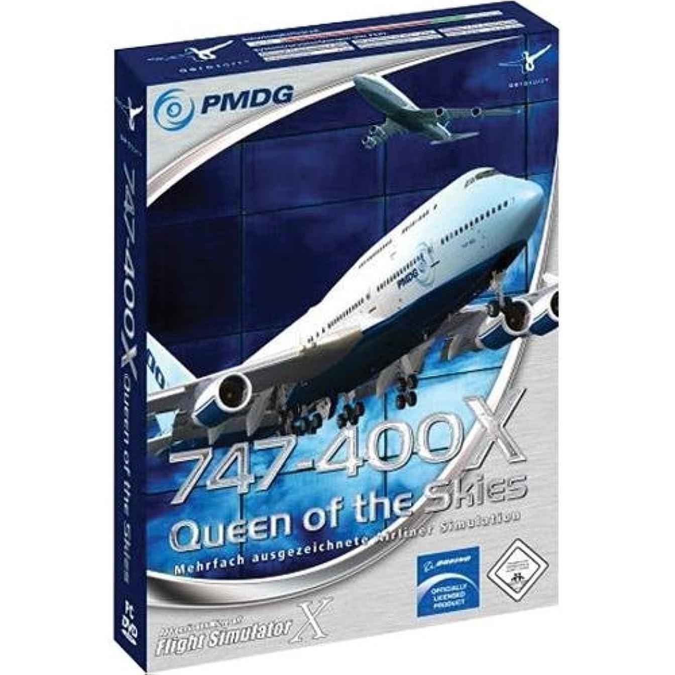 菊乙女儀式747-400X Queen Of The Skies Flight Simulator (輸入版)