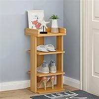 ALUP- 靴のラックシンプルな多層の家庭用収納キャビネット多機能収納ラックトップバッフルのデザインキーの装飾を置く負荷50kg (色 : #1, サイズ さいず : 5 layers - height 72cm)
