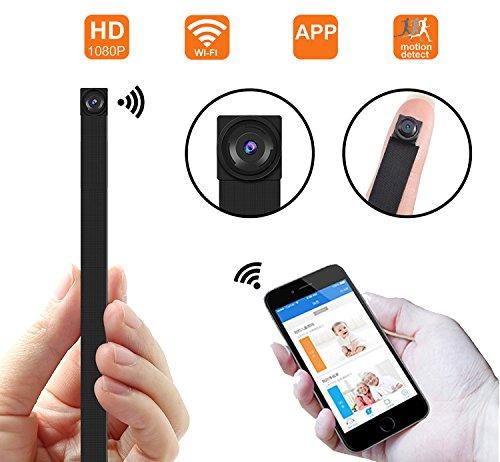 1080P HD P2P Wifi 超小型 動体検知 高画質...