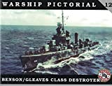 WARSHIP PICTORIAL 12 BENSON/GLEAVES DESTROYES