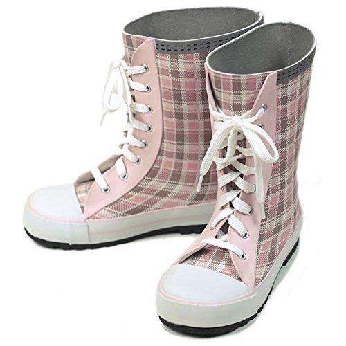 2acbe84561663 [ボストアール] BOST-R 長靴 靴紐シューズ風 キッズレインブーツ 子供用