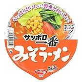 サンヨー食品 サッポロ一番みそラーメンどんぶり 81g