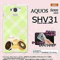 SHV31 スマホケース AQUOS SERIE MINI SHV31 カバー アクオス セリエ ミニ ソフトケース ドーナツ nk-shv31-tp662