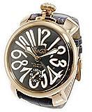 [ガガミラノ] GAGA MILANO 腕時計 手巻き マニュアーレ 48 MANUALE 48MM スモールセコンド 5011.07S GRY メンズ [並行輸入品]