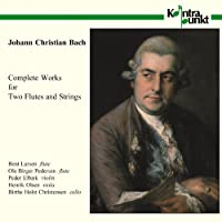 J.C.バッハ:2本のフルートと弦楽器のための作品集 J.C.Bach: Complete Works for Two Flutes & String