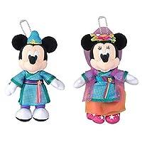 TDR If sewing Disney Tanabata 2016 Tanabata Days Tanabata Wishing Mickey Minnie ぬいぐるみバッジセット (ディズニーリゾートのみ)