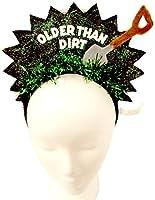 Hanover Accessories Older Than Dirt 40 50 60 70 80 90 Birthday Party Headband [並行輸入品]