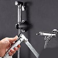 wAWzjバスルームシャワーセットすべて銅トイレコーナーバルブトイレスプレーガンSingle Cold Wash座金Closestool Companion