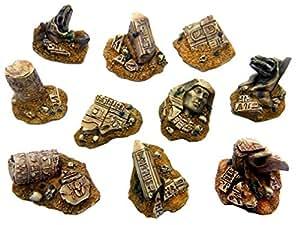 グリーンスタッフワールド 遺跡となったエジプト古代彫刻 ミニチュア用アクセサリー GSWD-1505