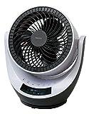 TEKNOS DCサーキュレーター 18cm羽根 DCモーター扇風機 収納リモコン SAK-280DC