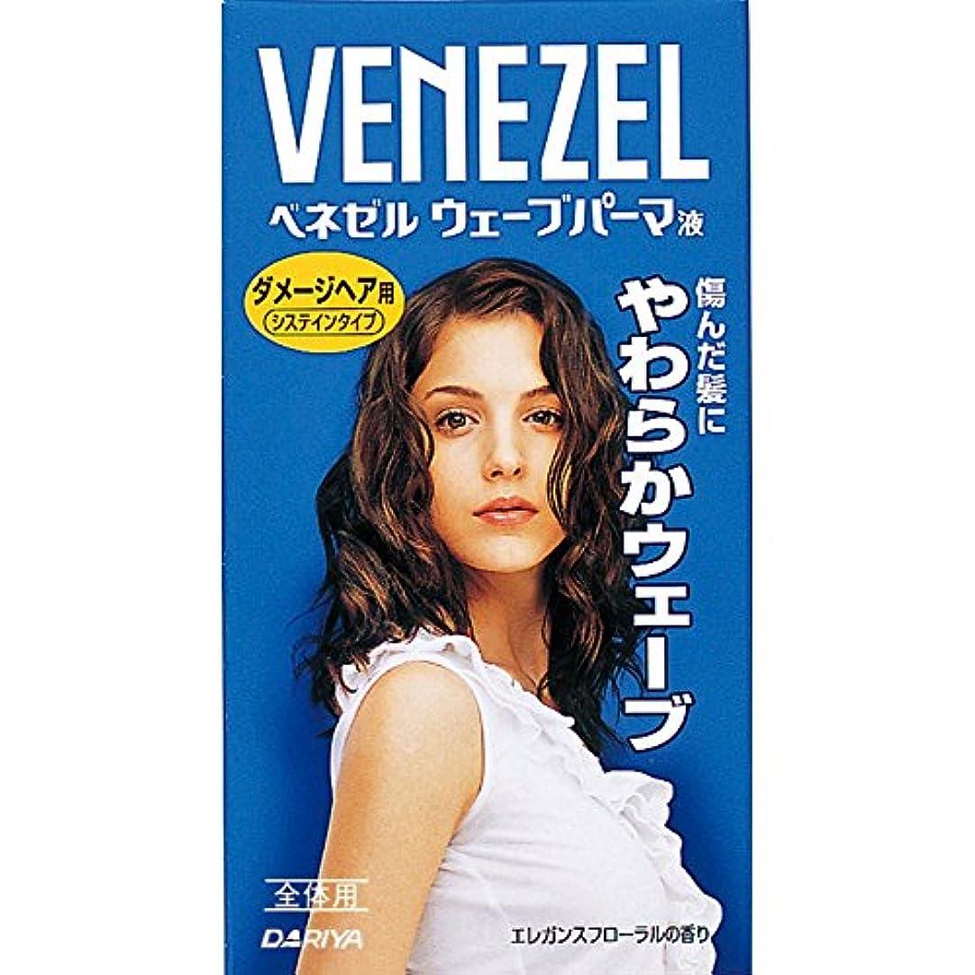 滑りやすい励起趣味ベネゼル ウェーブパーマ液 ダメージヘア用 全体用